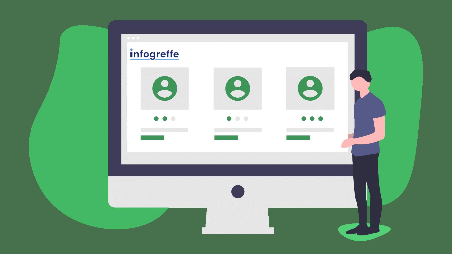 accès informations entreprises Infogreffe