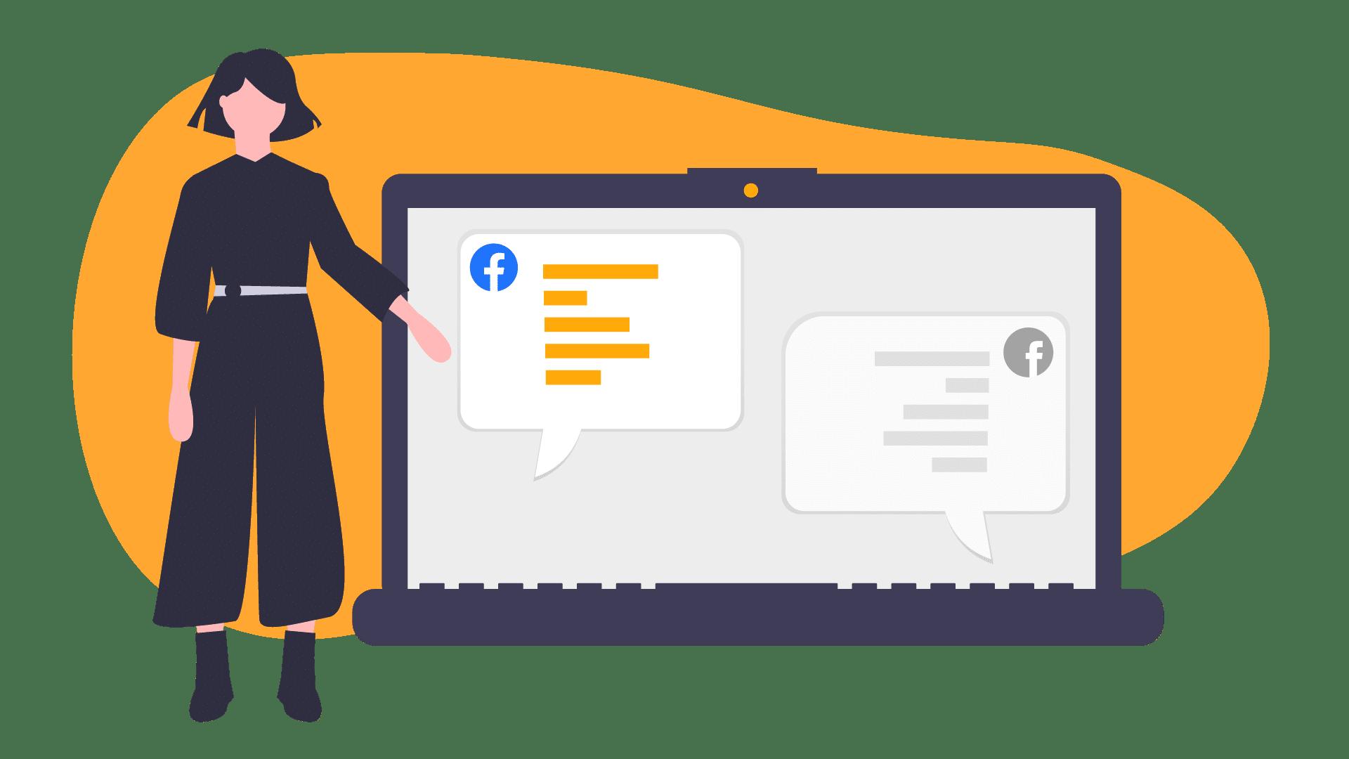 Les conversations Facebook au travail